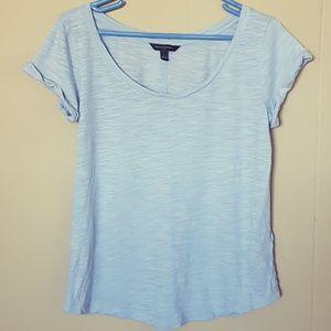 Banana Republic Light Blue Tee Shirt Size S
